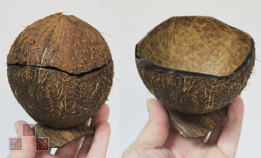 посуда из кокоса