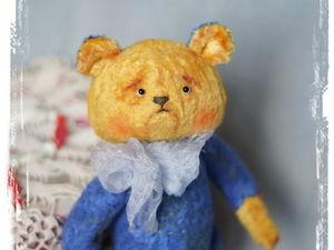 Аукцион на Мишутку Праздничное настроение. Ярмарка Мастеров - ручная работа, handmade.