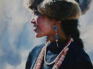 Портреты жизни китайского художника Liu Yungsheng. Ярмарка Мастеров - ручная работа, handmade.