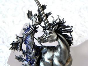 Видео. Брошь Единорог, Jonette Jewelry, США. Ярмарка Мастеров - ручная работа, handmade.