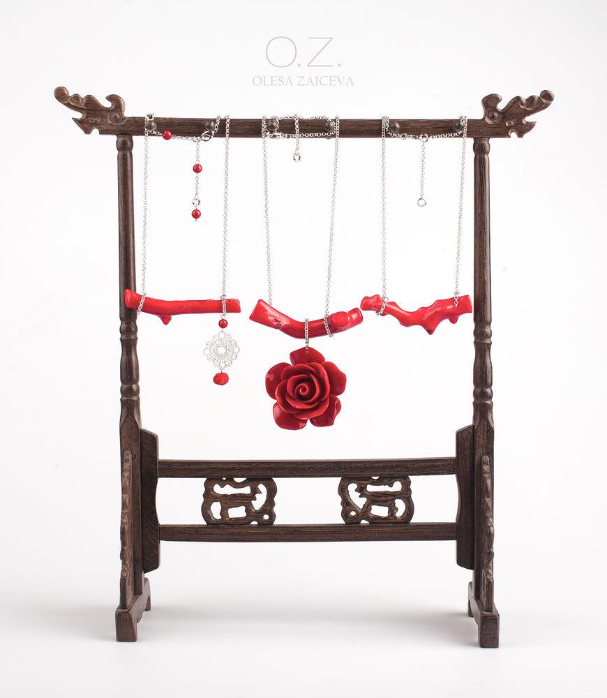 коллекция, дизайнерские украшения, цветы, стрекоза, колье