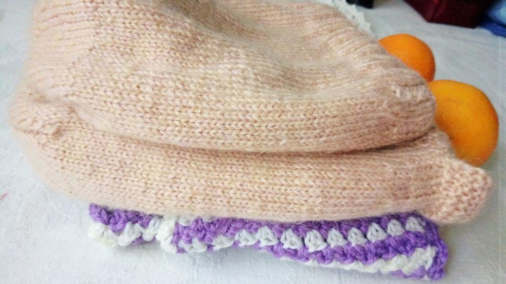 шапочка, вяжу, модное вязание, шарфик