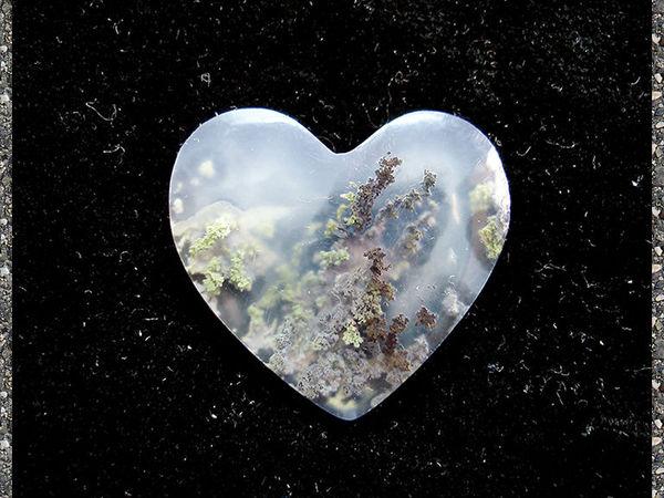 моховой пейзажный агат   Ярмарка Мастеров - ручная работа, handmade