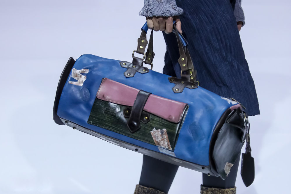 неделя моды, мужская сумка, женская сумка, сумка с рисунком, показ мод