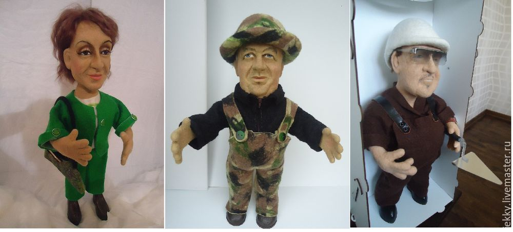 мастер-класс по кукле