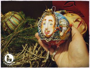 Ёлочная игрушка из папье-маше: новогодний мастер-класс | Ярмарка Мастеров - ручная работа, handmade