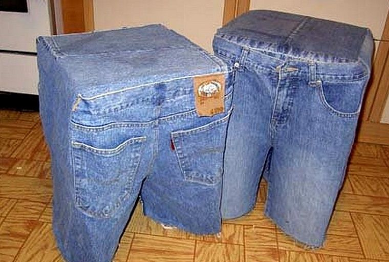 Как сделать из бумаги джинсы 916