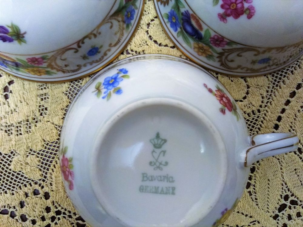 чайная тройка, мануфактуры германии