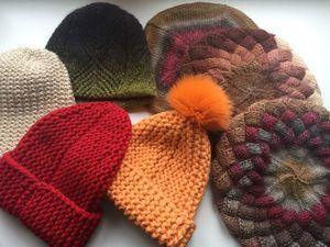 Вязаные шапки. Пополнение ассортимента. Ярмарка Мастеров - ручная работа, handmade.