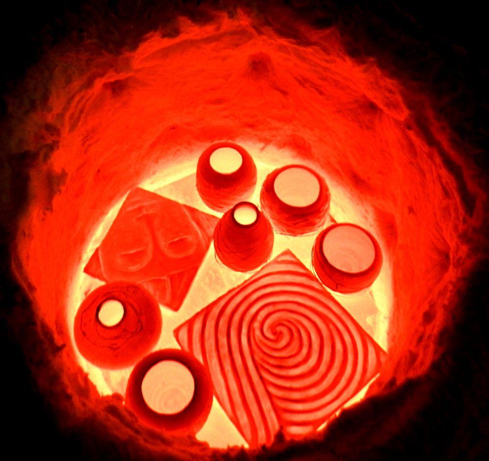 счастье керамиста, firing