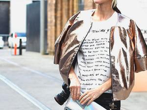 Блестящий выход: как носить и с чем сочетать одежду и аксессуары с эффектом металлик. Ярмарка Мастеров - ручная работа, handmade.