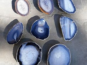 Огромное количество вариантов ручек для мебели со срезами агата. Ярмарка Мастеров - ручная работа, handmade.