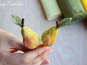 Создаем груши из бумаги, отличный элемент декора. Ярмарка Мастеров - ручная работа, handmade.