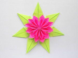 Собираем Красивый цветок из бумаги для украшения подарка. Ярмарка Мастеров - ручная работа, handmade.