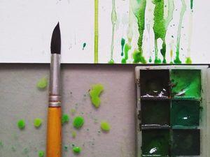 Процесс создания работ. Ярмарка Мастеров - ручная работа, handmade.