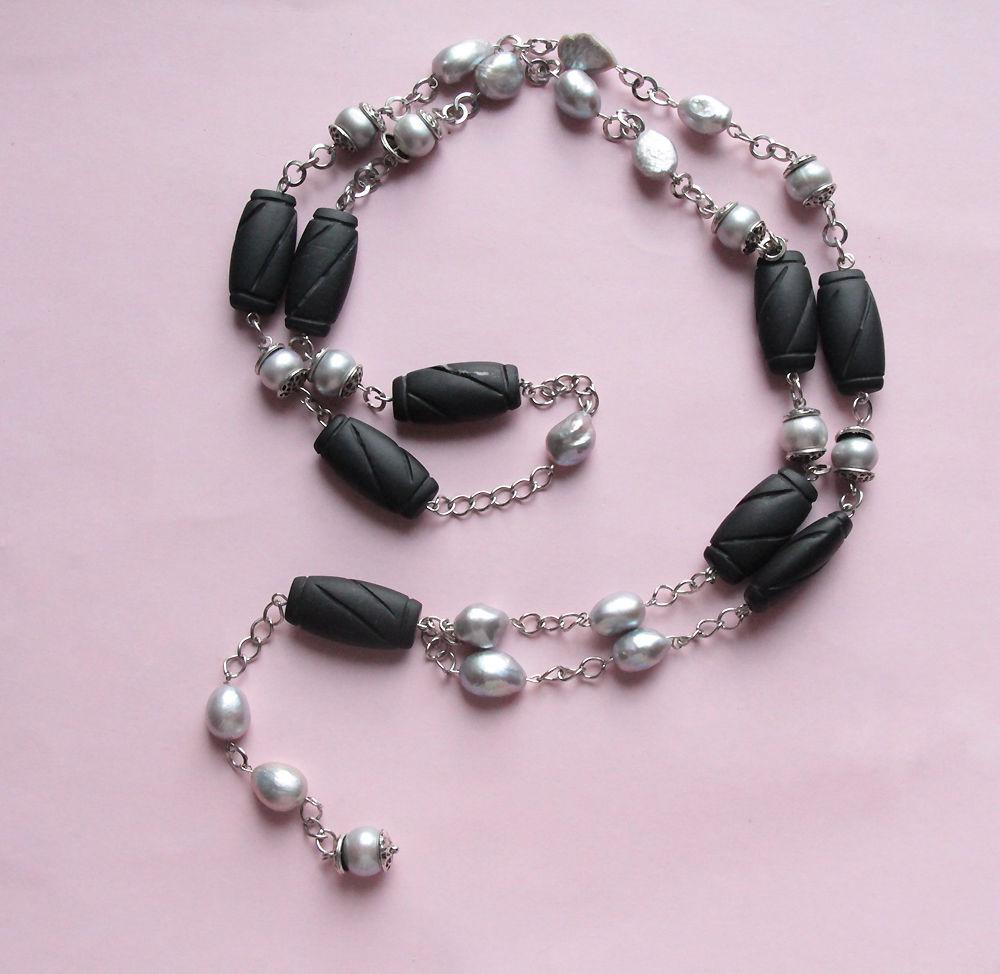 Авторские украшения из жемчуга и натуральных камней своими руками, фото № 27