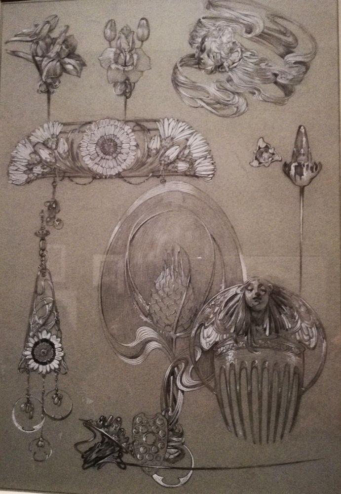 Альфонс Муха и его Женщины, 2 часть. Музей Люксембурга в Париже