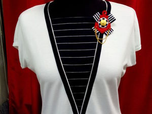 Шьем оригинальную блузку в морском стиле. Ярмарка Мастеров - ручная работа, handmade.