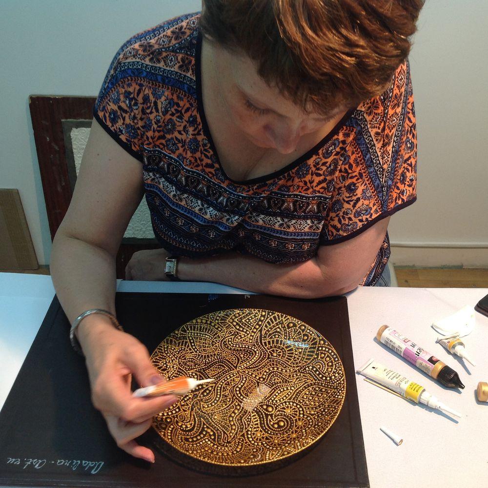 авторская роспись, adalina-art обучение
