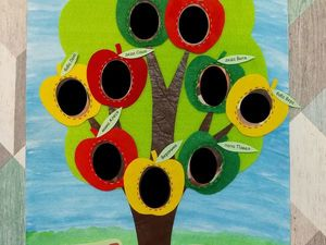 Семейное дерево из фетра (и не только). Ярмарка Мастеров - ручная работа, handmade.