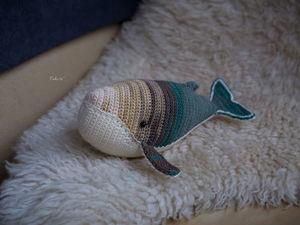 Вязаный кит Хельга. Ярмарка Мастеров - ручная работа, handmade.