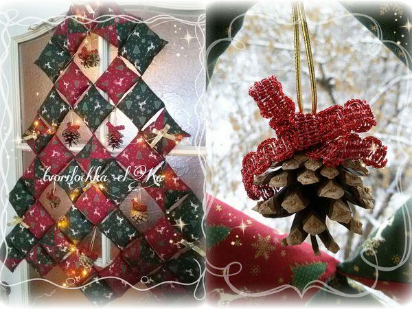 Шьем новогоднюю ёлку из подушечек | Ярмарка Мастеров - ручная работа, handmade