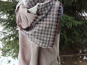 Льняной костюм — 20%. Ярмарка Мастеров - ручная работа, handmade.