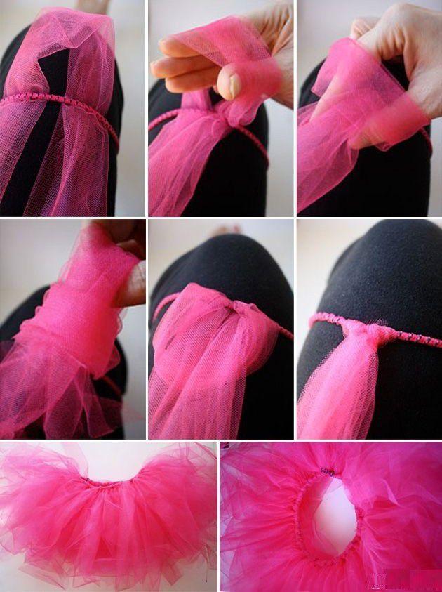 Как быстро сделать пачку юбка