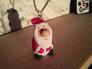How to Sculpt a Santa Claus Souvenir from Polymer Clay. Livemaster - handmade
