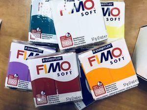 Поступление Fimo Effect и Fimo Soft 57 гр новые цвета. Ярмарка Мастеров - ручная работа, handmade.