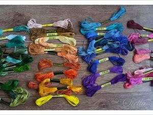 Где купить каталог ниток, как вы храните нитки и чем вы вообще вышиваете?. Ярмарка Мастеров - ручная работа, handmade.