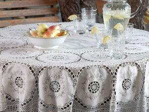 До конца мая 30% скидка на винтажные скатерти и салфетки!. Ярмарка Мастеров - ручная работа, handmade.