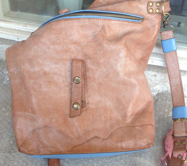 Как убрать «мокрые» пятна с кожаной сумки  – Ярмарка Мастеров fcb68dc795a