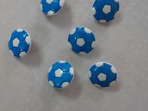 """Пуговица """"Футбольный мяч"""". Ярмарка Мастеров - ручная работа, handmade."""