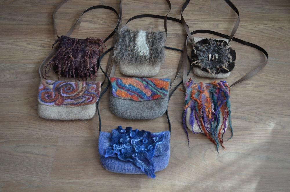 сумочки, бохо, красивая сумка, шерстяные сумочки, клатч