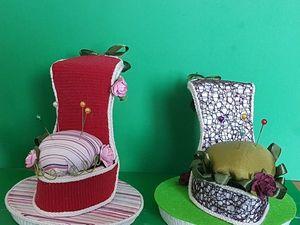 Мастер-класс: делаем туфельку-игольницу. Ярмарка Мастеров - ручная работа, handmade.