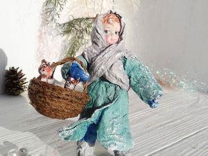 Ватная игрушка Машенька. Ярмарка Мастеров - ручная работа, handmade.