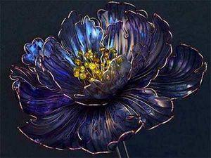 Знаменитые украшения Kanzashi, Haruyo Morita и Sakae — драгоценные жемчужины Японии | Ярмарка Мастеров - ручная работа, handmade