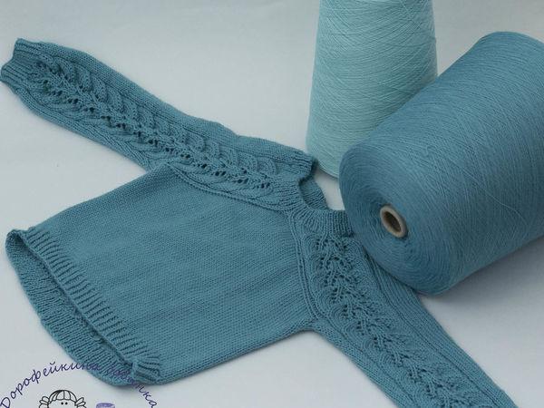 Вязание спицами (крючком) в несколько нитей с одной бобины   Ярмарка Мастеров - ручная работа, handmade
