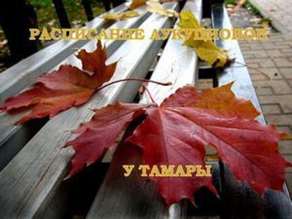 Ознакомьтесь! Расписание аукционов у Тамары! | Ярмарка Мастеров - ручная работа, handmade