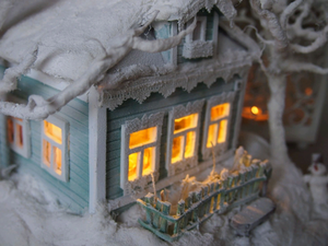 Новый домик светильник!. Ярмарка Мастеров - ручная работа, handmade.