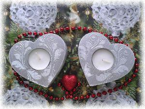Декорируем подсвечники для новогодней ночи или романтического вечера. Ярмарка Мастеров - ручная работа, handmade.