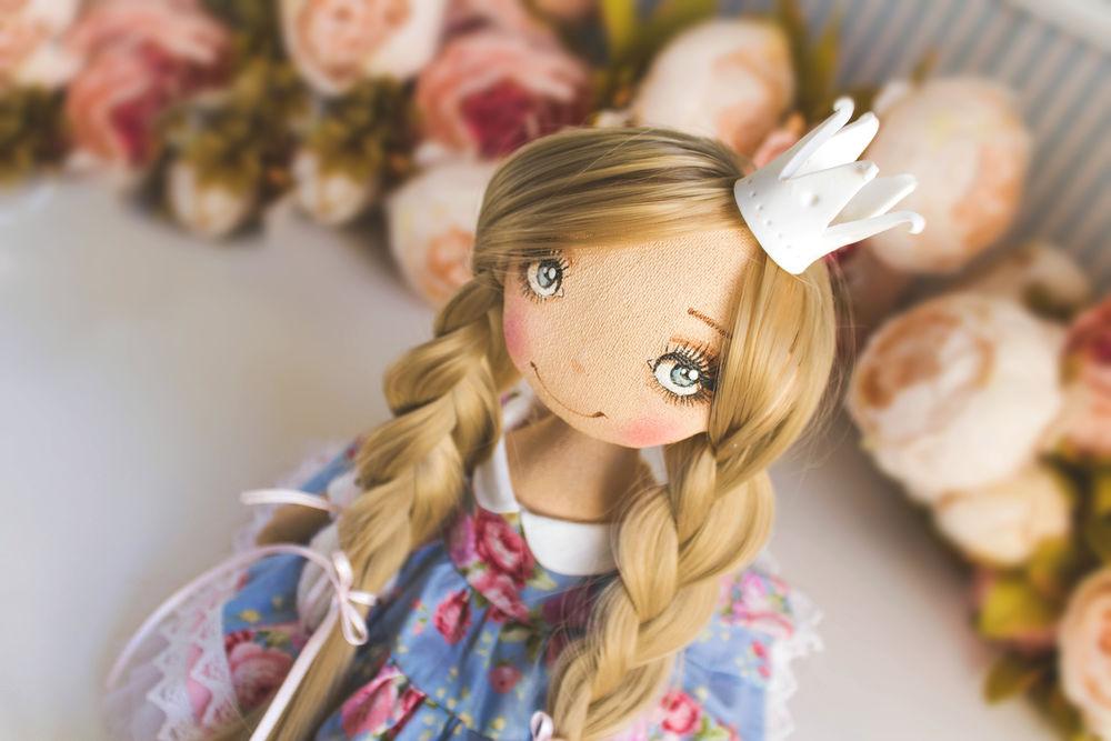 купить текстильная кукла, купить куклу для дочери, кукла для принцессы