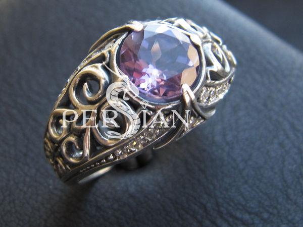 Наша новинка! Серебряное кольцо с аметистом