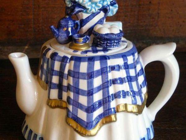 Чай надо пить, чтобы забыть о шуме  мира...   Ярмарка Мастеров - ручная работа, handmade