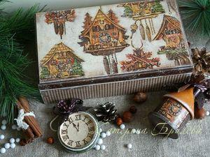 """Новая коллекция новогодних игрушек """"Лавка часовщика.. """". Ярмарка Мастеров - ручная работа, handmade."""