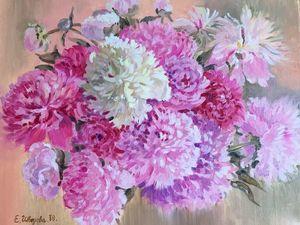 Пионы — роскошные цветы. Ярмарка Мастеров - ручная работа, handmade.