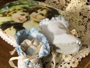 Мастерим кожаные ботиночки-пинетки для куклы. Ярмарка Мастеров - ручная работа, handmade.