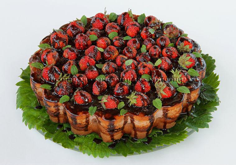 клубника, пирог с клубникой, творожная выпечка, клубничный пирог, рецепт пирога с клубникой, творожный пирог, рецепт от красотули