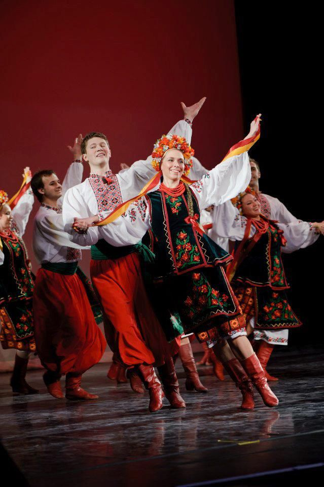 Ukrainian dance, from Iryna with love